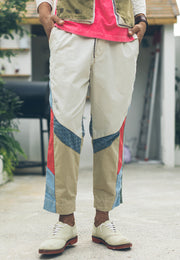 Thea Cropped Chino Pant