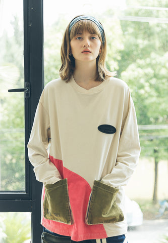 Mel Washed Long Sleeves Tee