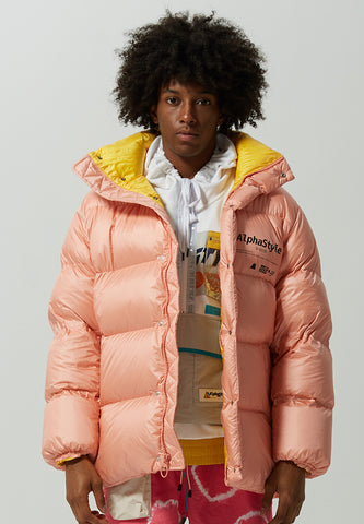 Nayan Solid Down Puffer Jacket