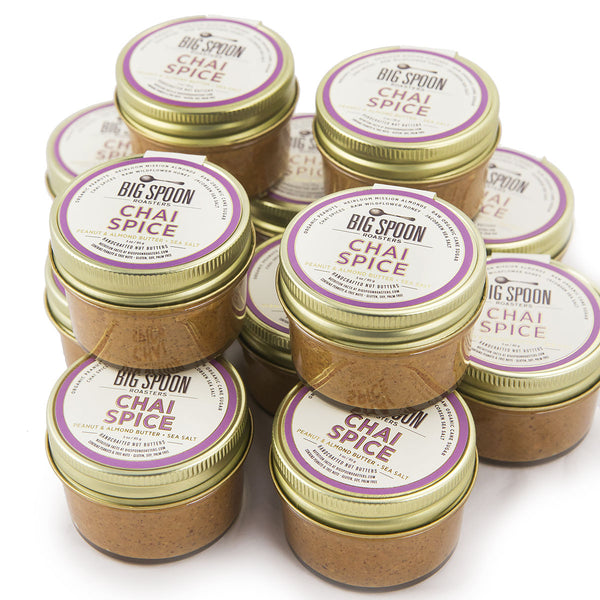 3oz Chai Spice Peanut & Almond Butter - Case of 12