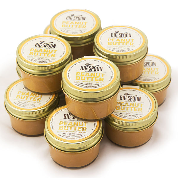 3oz Peanut Butter with Wildflower Honey & Sea Salt - Case of 12