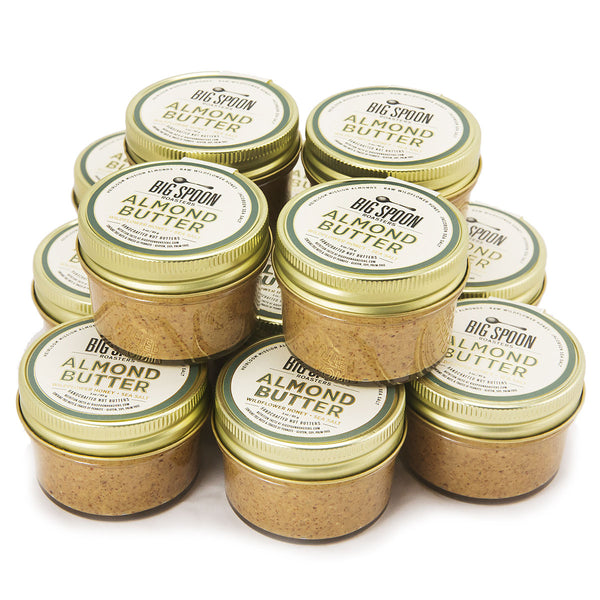 3oz Almond Butter with Wildflower Honey & Sea Salt - Case of 12