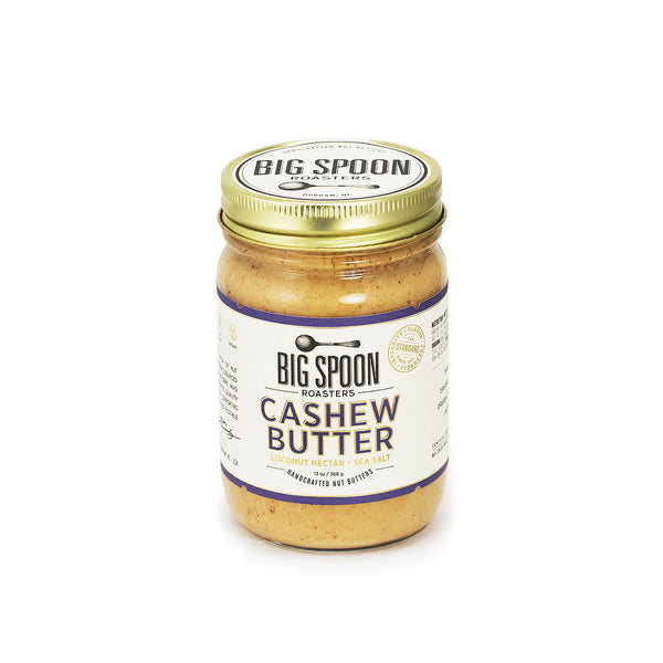Jar of Big Spoon Roasters palm oil-free Cashew Butter