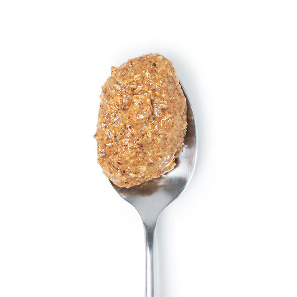 Spoon of Big Spoon Roasters palm oil-free Toasted Coconut Almond butter