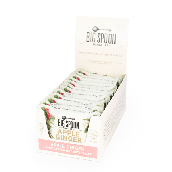 NEW Apple Ginger Almond Butter Bars - Case of 12