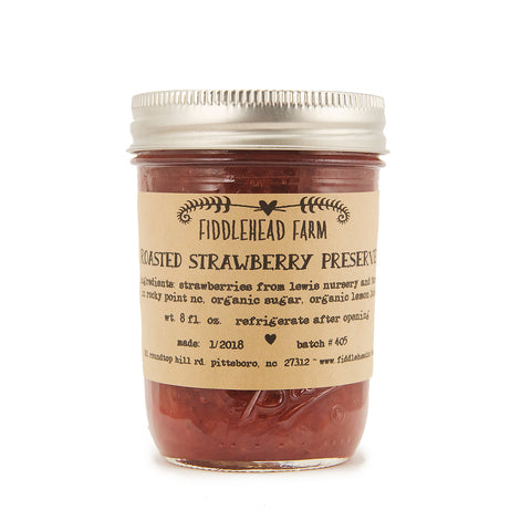 February Featured Jam: Fiddlehead Farm Roasted Strawberry Preserves