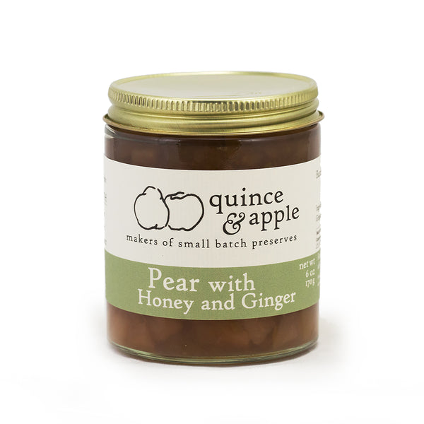 January Featured Jam: Quince & Apple Pear with Honey and Ginger