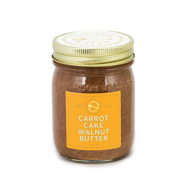 LIMITED BATCH: Carrot Cake Walnut Butter