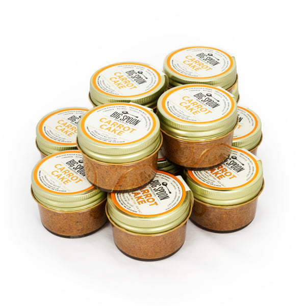 3oz Carrot Cake Almond  and Walnut Butter with Sea Salt - Case of 12