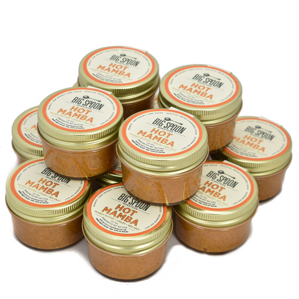 3oz Hot Mamba Peanut Butter - Case of 12