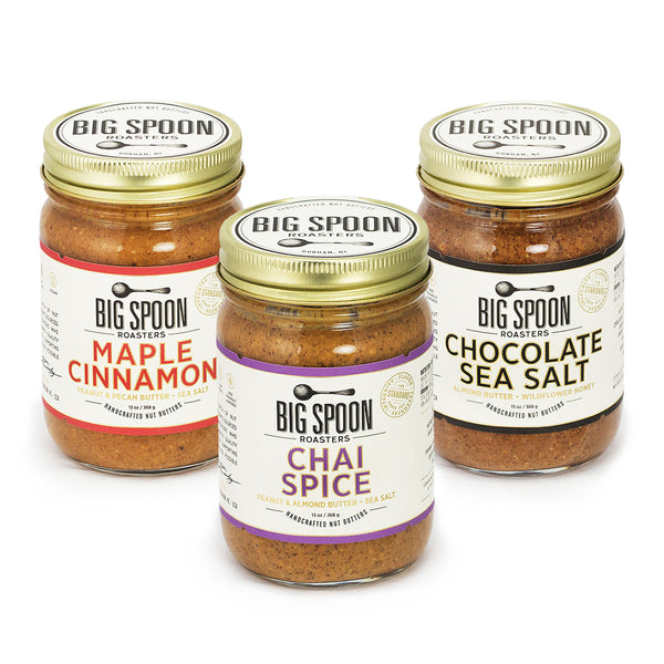 Fall/Winter Seasonal Nut Butter Trio