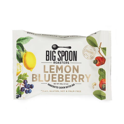 NEW Lemon Blueberry Cashew Butter Bars - Case of 12