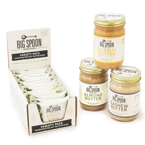 Nut Butter & Bar Pantry Pack