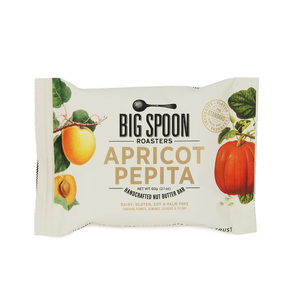 Big Spoon Roasters Apricot Pepita Handcrafted Nut Butter Bar