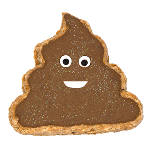 """Poop Emoji"" Dog Treat"