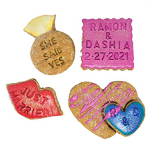 Load image into Gallery viewer, She said YES! dog treats set