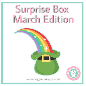 Surprise Box March´s Edition: Lucky Paws