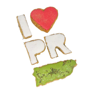 """I Love Puerto Rico"" Dog Treats Collection"