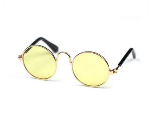 CLEAR YELLOW - Mr.Cupcake´s fashion sunglasses for dogs and cats