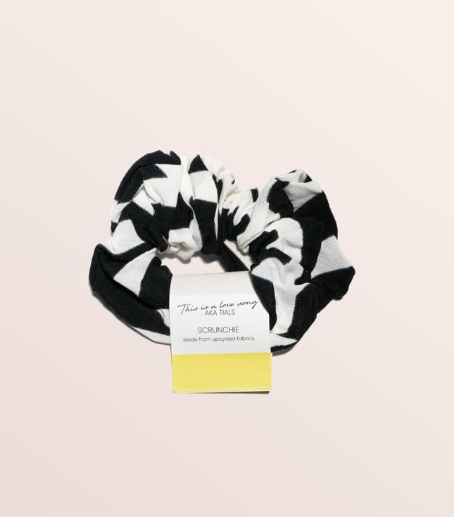 Upcycled Hair Scrunchie - THIS IS A LOVE SONG Indonesia