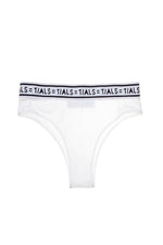 Logo Classic Hi-Cut Panty White - THIS IS A LOVE SONG Indonesia