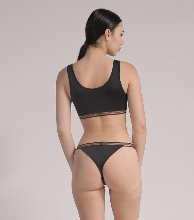 Kaia Tanga Panty (Black) - THIS IS A LOVE SONG Indonesia