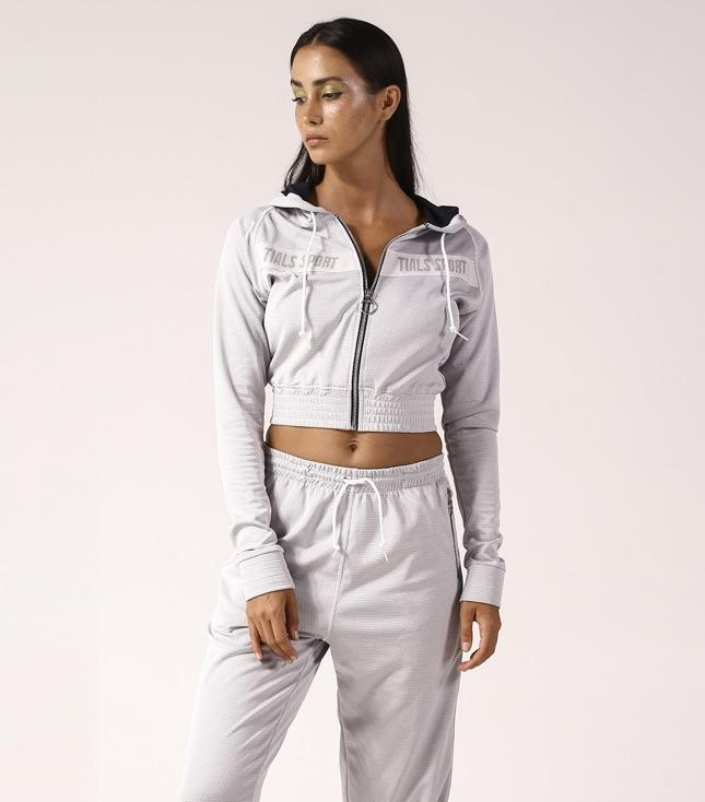 Rio Tracksuit Top Grey - thisisalovesong-id