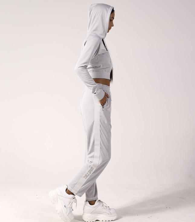 Rio Tracksuit Pants Grey - thisisalovesong-id