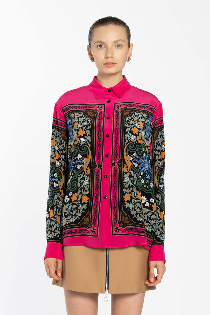 Oversize Silk Shirt - Liberty