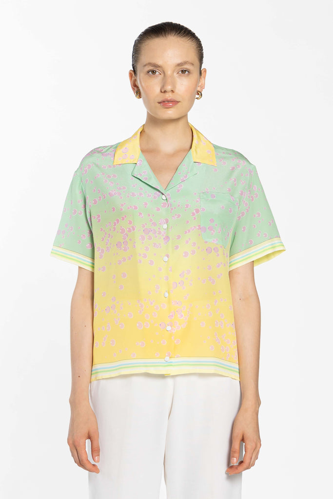 Boxy Shirt With Pocket - Balls