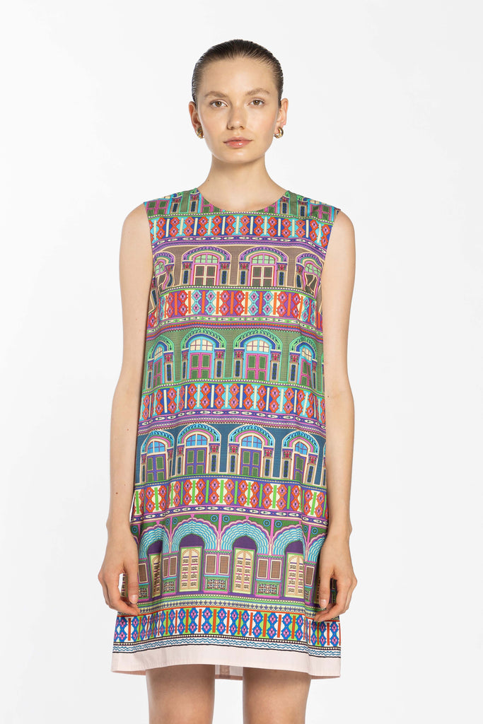 Sleeveless Dress - City Peech