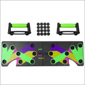 9 in 1 Push Up Rack Board for Home Gym - Gym Equipment