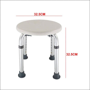 Bath Height Adjustable Kids Furniture Shower Stool Easy Clean Round Chair Seat Non Slip Disabled Toilet Home Older Pregnancy - 200110147