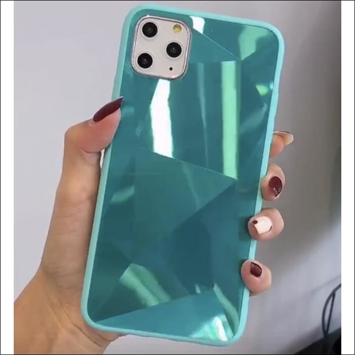 Apple iPhone Case Luxury 3D Phone Case For Apple iPhone 6 To 11 Pro Max - For iPhone 6 6s / Green