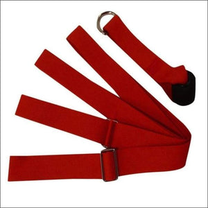 Door Flexibility Stretching Leg - Red / China - Gym Equipment