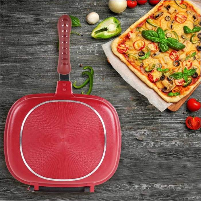 Double Sided- Multi Purpose Frying Pan - 28 CM