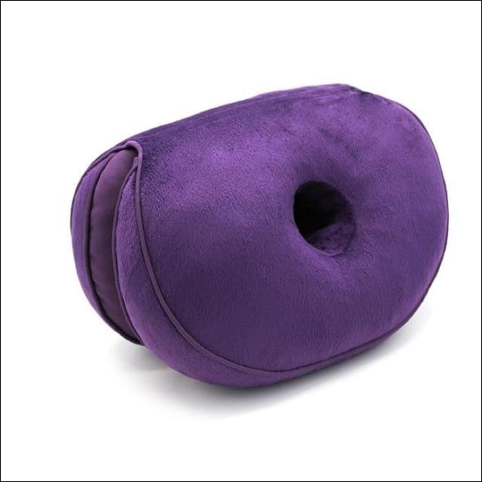 Dual Orthopedic Cushion - Purple