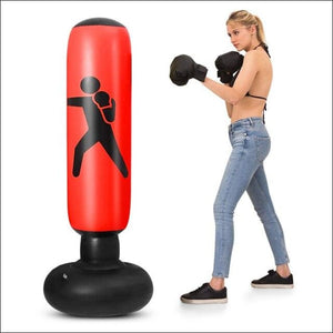 Inflatable Boxing Punching Bag - Gym Equipment