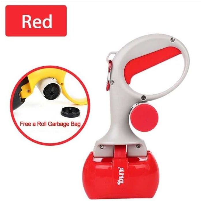 Pet Poop Scooper - Red