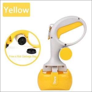 Pet Poop Scooper - Yellow