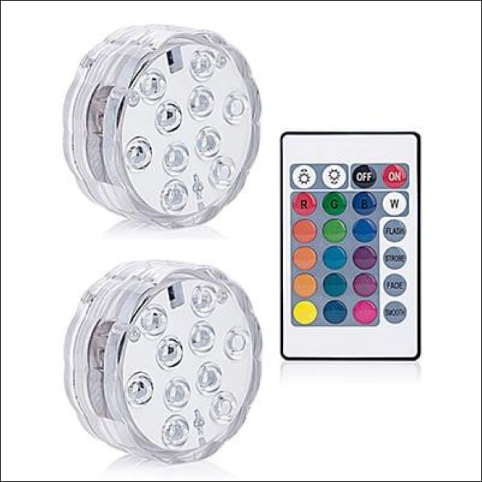 Pool Party Light - 1 controller 2 Lamp / RGB Color