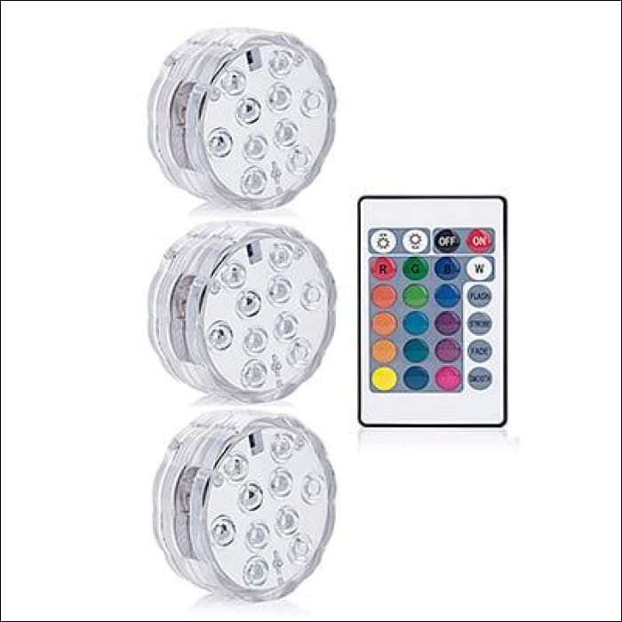 Pool Party Light - 1 controller 3 Lamp / RGB Color