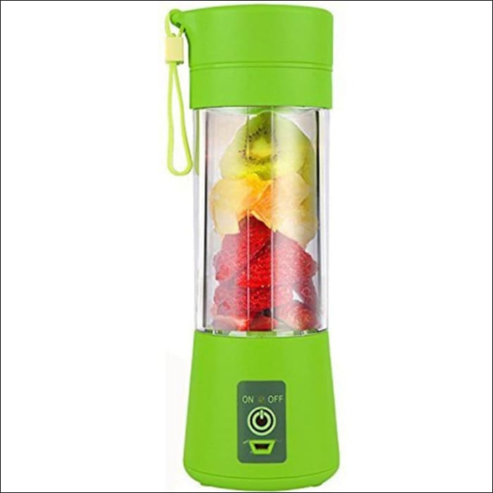 Portable USB Juice Blender Fruit Mixers With Six Blades