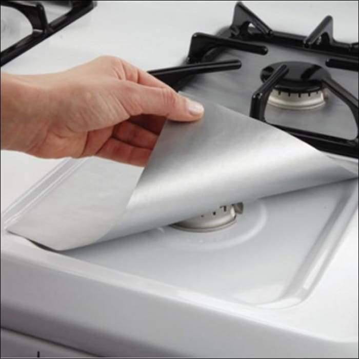 Reusable Stove Protectors - Silver