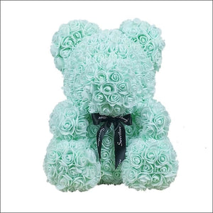 Rose Teddy Bear - Light green - 100001826