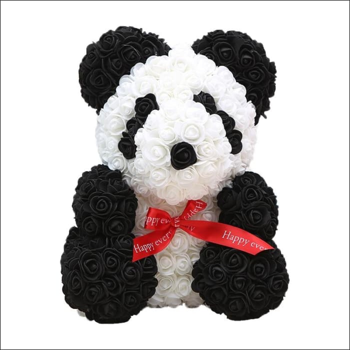 Rose Teddy Bear - Panda - 100001826