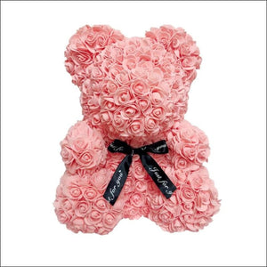 Rose Teddy Bear - Peachy Pink - 100001826