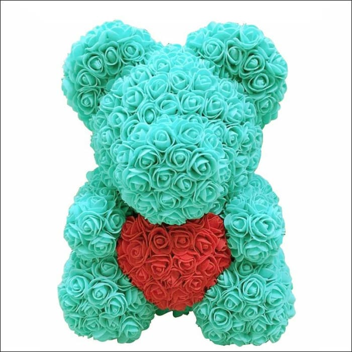 Rose Teddy Bear - Tiffany with red - 100001826