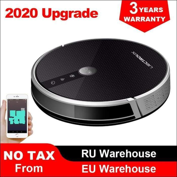 LIECTROUX C30B Robot Vacuum Cleaner Map navigation 3000Pa Suction Smart Memory Map Display on Wifi APP Electric Water tank - 608