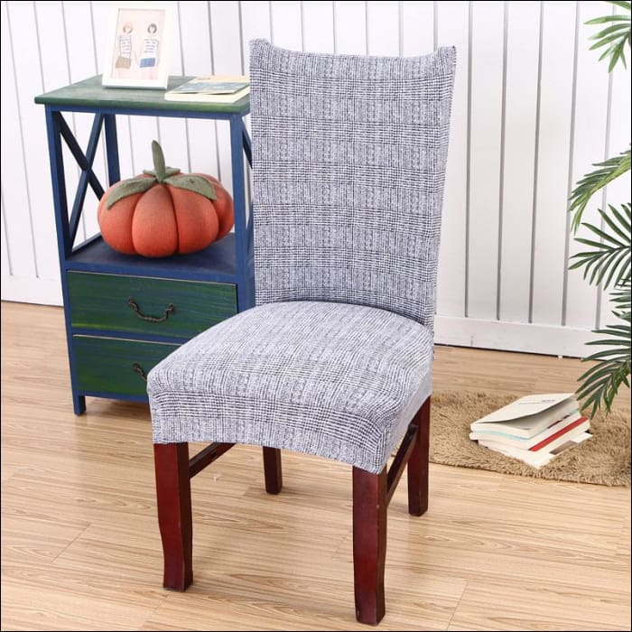 string printed chair cover seat for dining room slipcovers spandex stretch wedding office hotel chair covers - color 13 / 1 piece - 40510